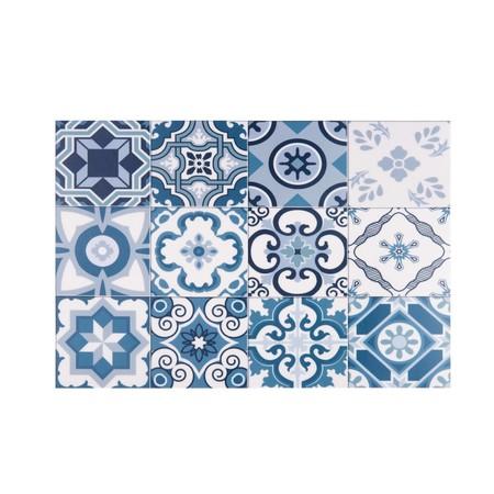 Mantel Individual De Vinilo Con Motivos De Azulejos De Cemento 30x45 1000 0 17 183328 3maisondu Monde