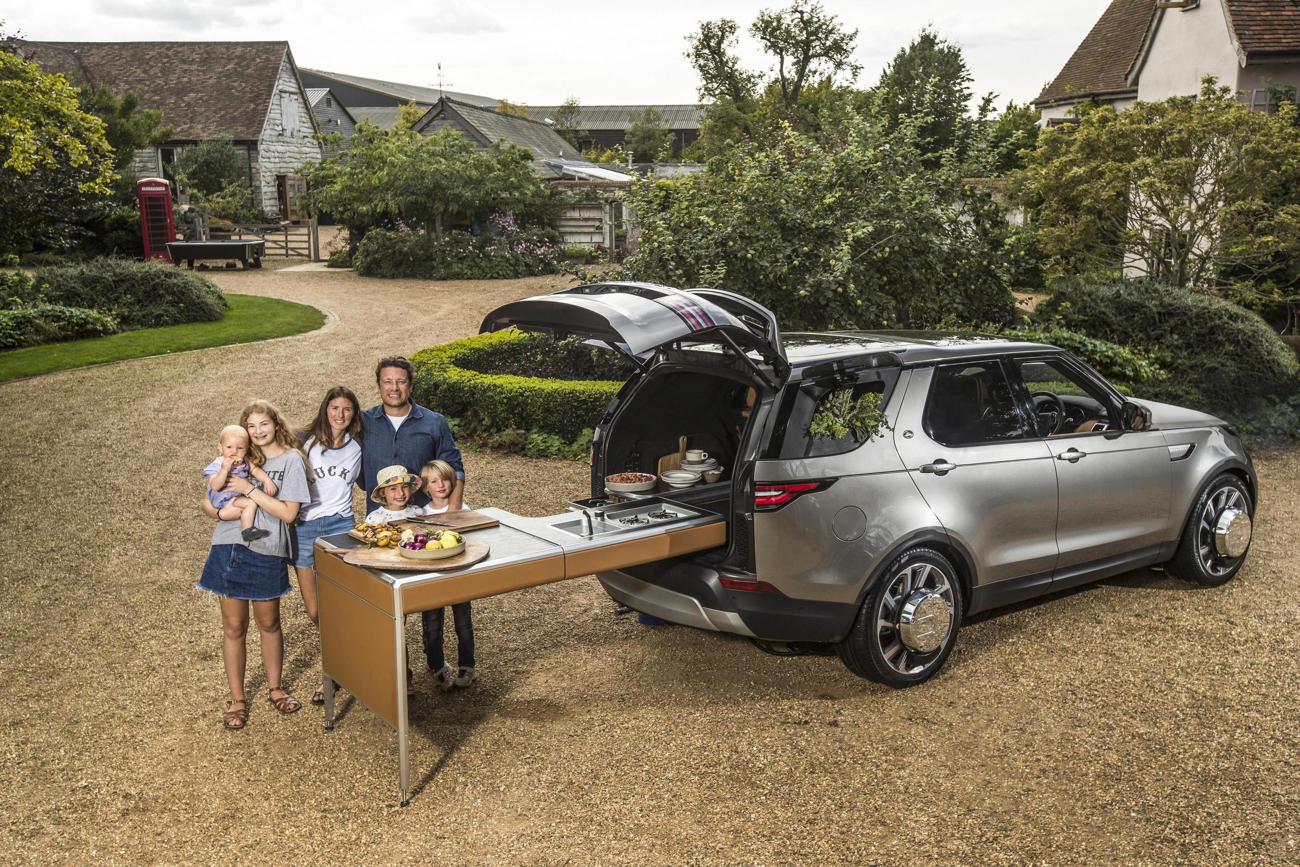 Foto de Land Rover Duscovery cocina ambulante (1/17)