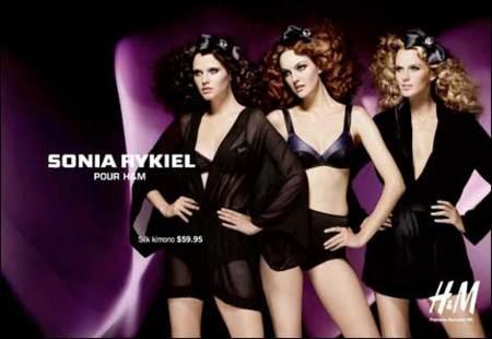 Campaña de Sonia Rykiel para H&M