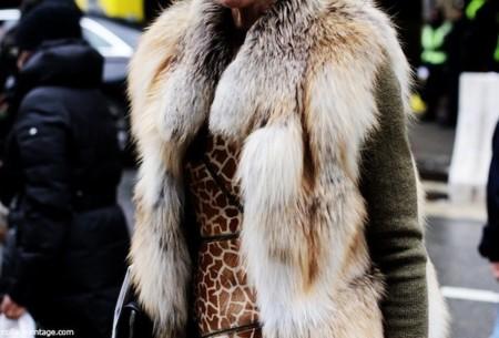 street style abrigo pelo