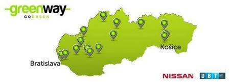 Eslovaquia abre un corredor eléctrico que atraviesa el país