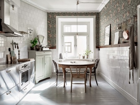 9 espacios realmente inspiradores gracias al papel pintado