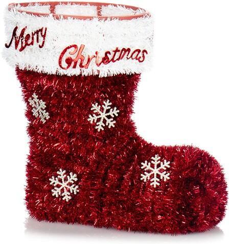 Botas de decoración navideña