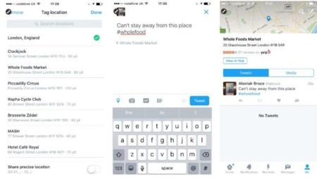 Twitter se alía con Yelp para etiquetar y localizar negocios