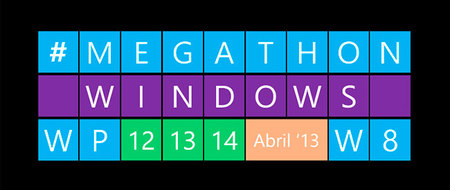 Llega la segunda edición del Megathon Windows, a mediados de Abril