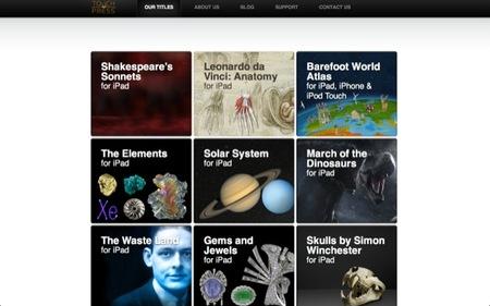 Las atractivas aplicaciones para el iPad de Touch Press