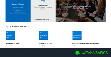 Licencias de Windows 10: tipos y dónde comprar