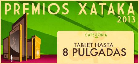 Mejor tablet de hasta 8 pulgadas: vota por su favorito para los Premios Xataka 2013