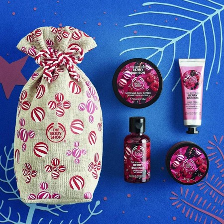 Saquito De Delicias Berry Bon Bon The Body Shop