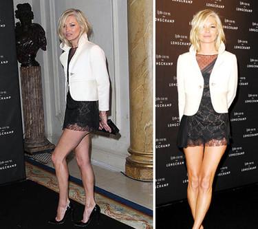 Kate Moss de Valentino en París