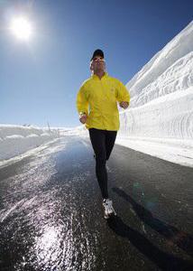 Correr con frío, correr con viento