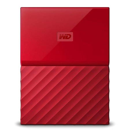 Wd My Passport Rojo
