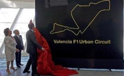 Los F1 irán a 323Km/h por las calles de Valencia