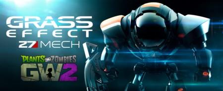 Mass Effect y Plants vs. Zombies tienen un hijo y sale el Mecha más adorable del mundo