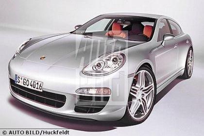 Porsche Panamera, nuevas recreaciones de Auto Bild