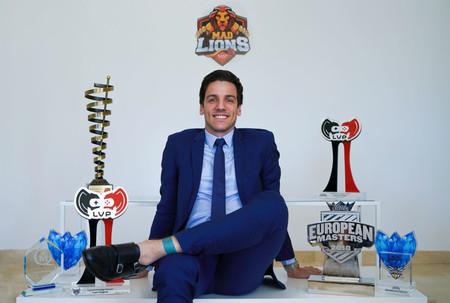 Alvar 'Araneae' Martín se convierte en el nuevo Managing Director de MAD Lions