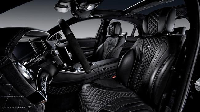 Vilner hace de las suyas con el interior de este Mercedes-AMG S 63, atiborrado de cuero y alcántara