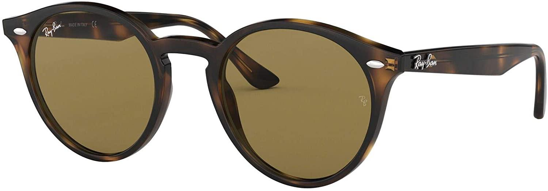 Ray-Ban Ojo de la cerradura redonda de gafas de sol en la Habana oscurezca brillante RB2180 710/73 49