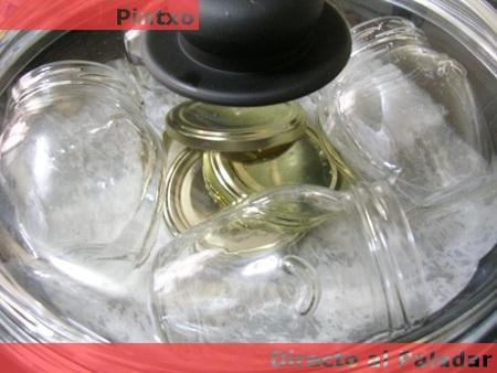 Cómo esterilizar nuestras conservas. Receta de Mermelada de fresa
