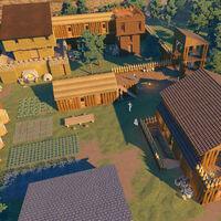 Consejos para mejorar los edificios en Going Medieval, tener la población contenta y explotar tu colonia