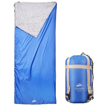 Cupón de descuento del 50% en este saco de dormir Hihill en color azul: aplicándolo cuesta 8,49 euros en Amazon