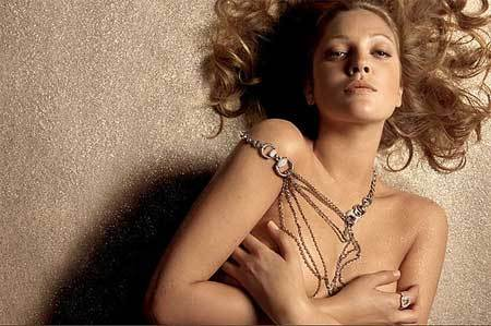 Drew Barrymore para Gucci