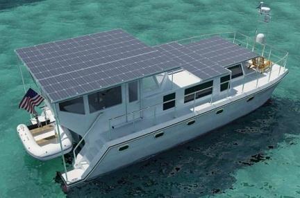 Un nuevo barco de lujo ecológico el DSe Hybrid