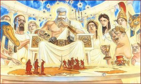 Los dioses del Mundodisco