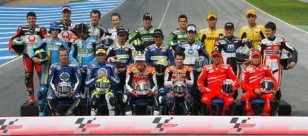 Pilotos oficiales MotoGP 2007