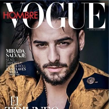 Nos quedamos con la boca abierta: Maluma sorprende en la portada de Vogue Hombre