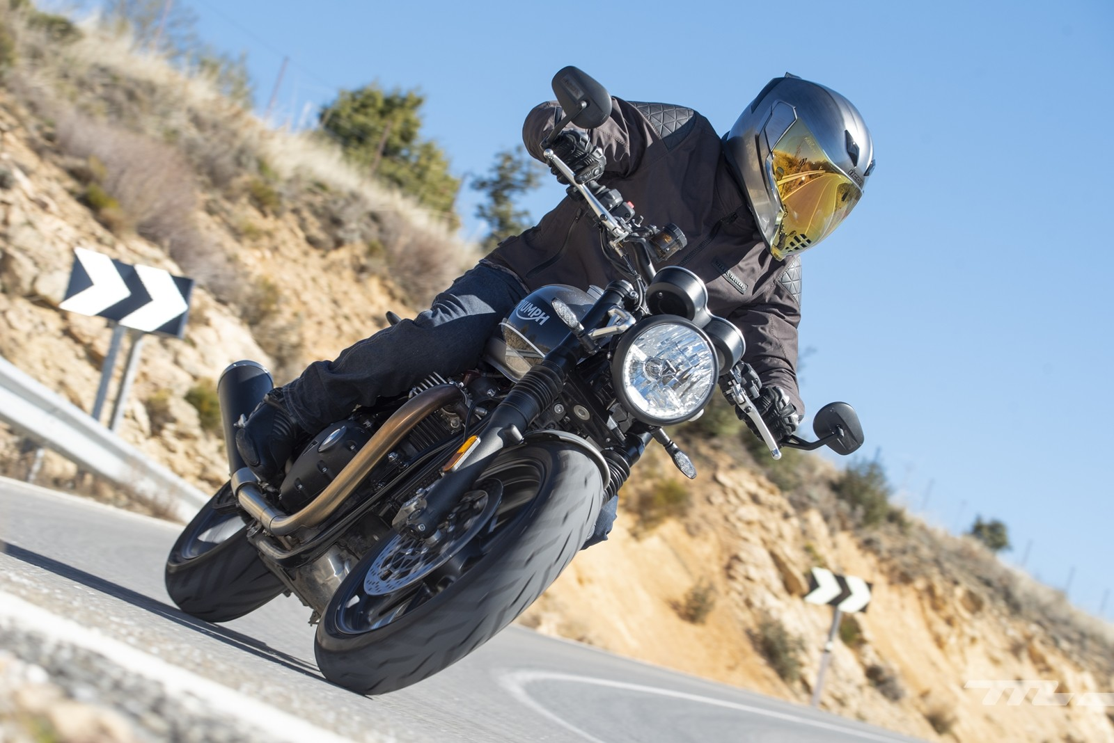 Triumph Speed Twin 2019, prueba