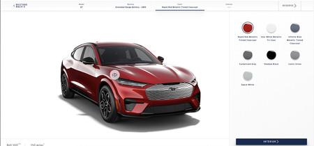 El configurador del Ford Mustang Mach E ya está en línea ¿Cómo sería el tuyo?
