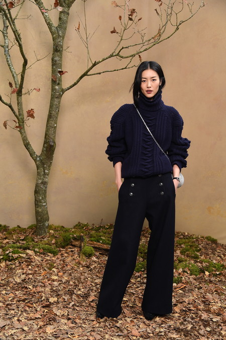 08 Liu Wen Fall Winter 2018 19 Ready To Wear Collection