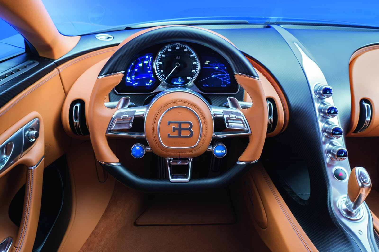 Foto de Bugatti Chiron (19/60)