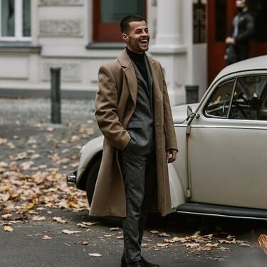 El mejor street-style de la semana convierte al suéter de cuello alto en el comodín de cualquier look
