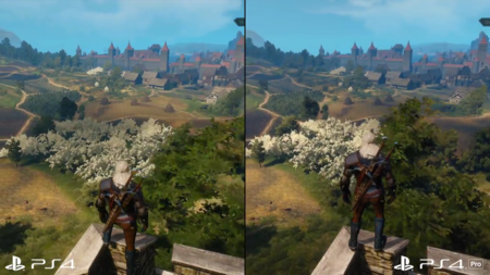 Un vídeo comparativo muestra las diferencias de la calidad de The Witcher 3: Wild Hunt en PS4 y PS4 Pro