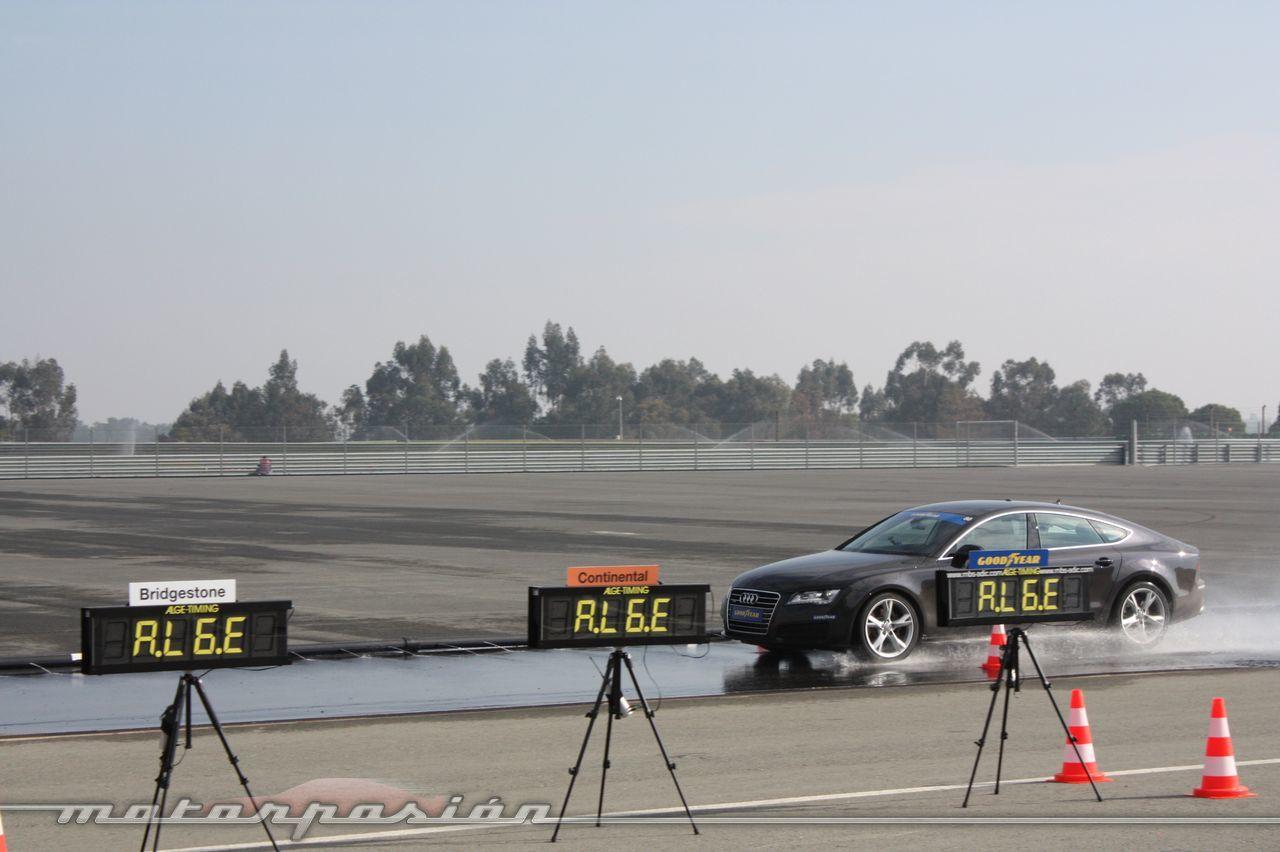 Foto de Goodyear Eagle F1: Audi TT RS, Audi A7 y Mercedes CLS (31/79)