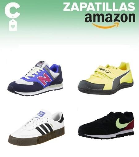 Chollos en tallas sueltas de zapatillas Nike, New Balance, Puma o Adidas en Amazon