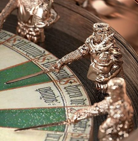 Reloj Roger Dubuis Excalibur Table Ronde, detalle
