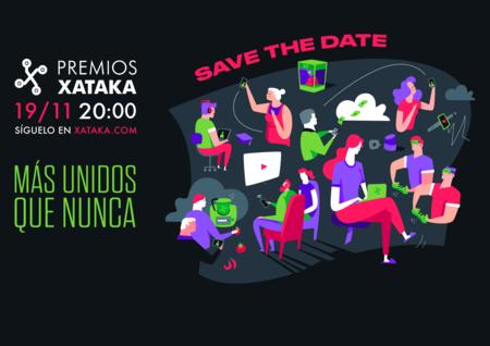 Premios Xataka 2020: reserva el 19 de noviembre para una gala muy especial con David Broncano