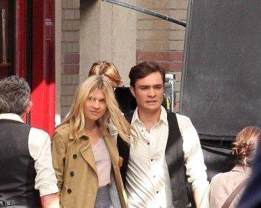 Primeras imágenes del rodaje de la cuarta temporada de Gossip Girl