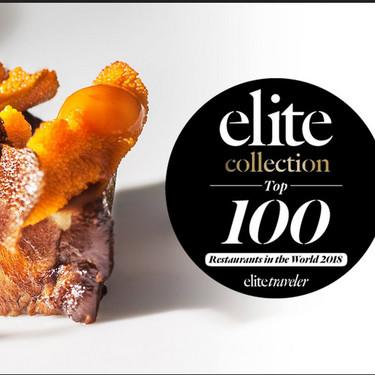 Los restaurantes mexicanos Pujol y Quintonil entre los cien mejores del mundo según Elite Traveler