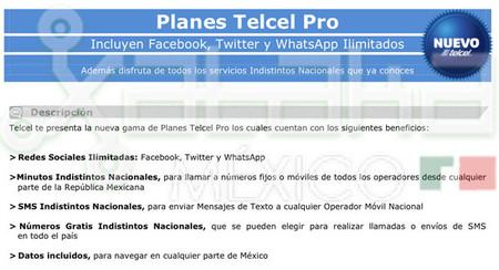 Plan Telcel Pro 01