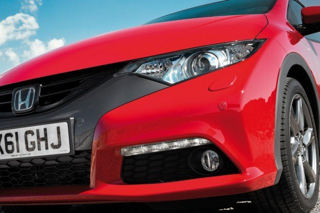 Honda Civic 2012 Vista cercana