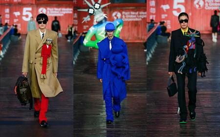 Ni La Pandemia Detuvo A Louis Vuitton Al Presentar En China Su Nueva Coleccion Primavera Verano 2021 3