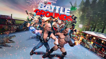 WWE 2K Battlegrounds y sus locos combates confirman su fecha de lanzamiento para mediados de septiembre