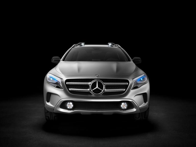 Foto de Mercedes GLA Concept (1/7)