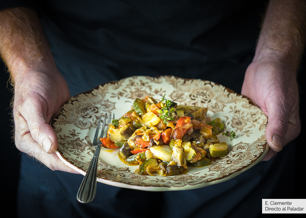 Ratatouille Receta De Cocina Del Pisto Francés Fácil Sencilla Y Deliciosa