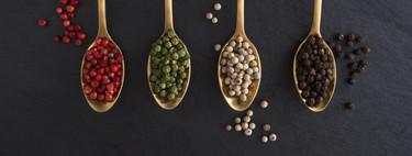 Cómo usar la pimienta en tus platos (y en qué se diferencian blancas, negras, verdes o rojas)
