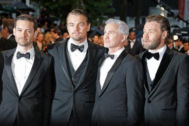 La pajarita se impone en la alfombra roja pasada por agua del Festival de Cannes